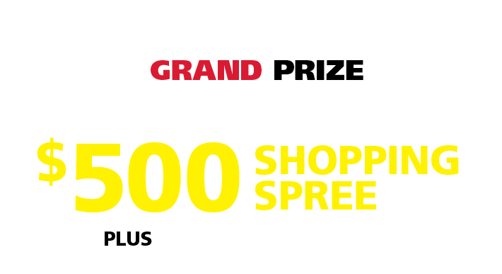 canada day shopping spree contest