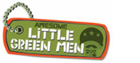 little green men logo