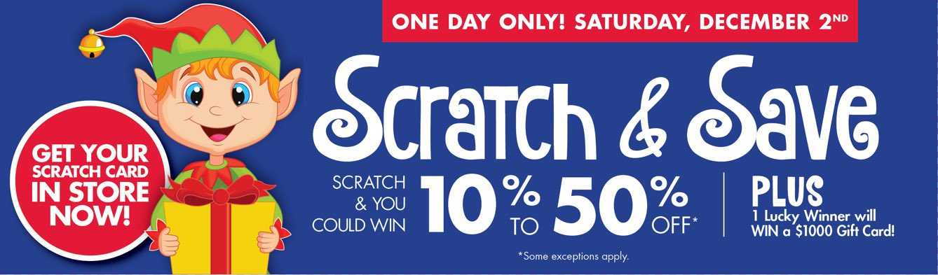 Scratch and Save